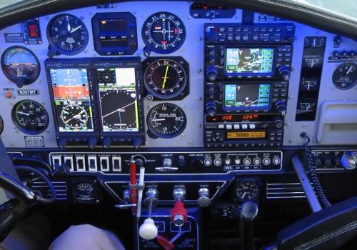 02 Aspen cockpit night