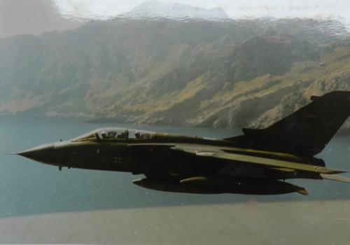 Tornado der Luftwaffe vor Mallorca. © Trauboth