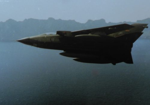 Wings 69 Grad im Tornado vor Mallorca