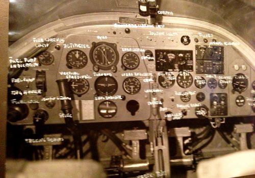 Cockpit Piaggio