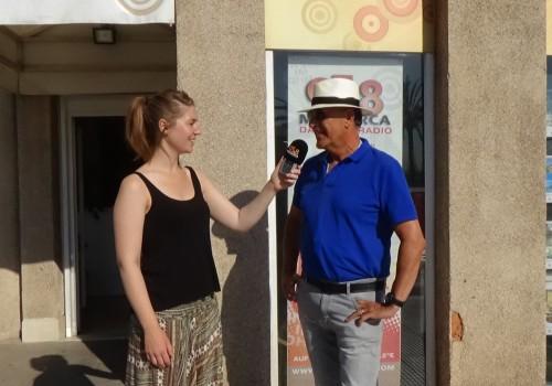 Leonie Martin und JT Juli 2015 Mallorca