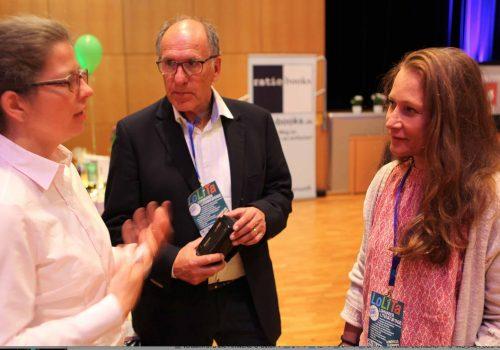 jt-Teambesprechung Autor mir Frau Heine und Frau Riedel